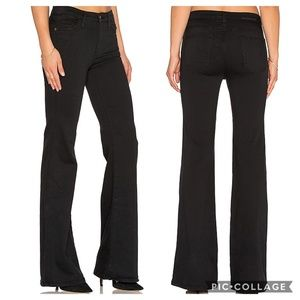 Current Elliott the Girl Crush black flare jean